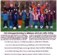 JSG-Schnuppertraining wird ein voller Erfolg